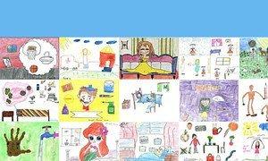 В ВОЗ провели конкурс детского рисунка о профилактике и лечении сезонного гриппа