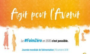 Our actions are our future - A Zero Hunger world is possible by 2030