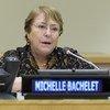 """Bachelet considera que a mudança climática tem efeitos tão """"devastadores"""" que esta deveria ser chamada de """"violação do clima"""""""