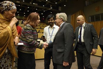 Presidente da Assembleia Geral e secretário-geral da ONU participaram na Série de Diálogo sobre África de 2018.