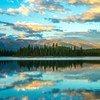 Заповедник озера Боя в Британской Колумбии.