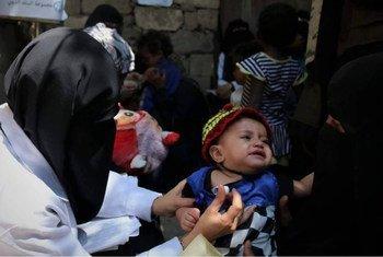 Neste momento 8 milhões de pessoas sáo assistidas por organizações humanitárias no Iémen.