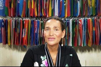 Frédérique Bedos, Fondatrice de l'ONG Projet Imagine