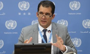 联合国酷刑问题特别报告员迈尔泽(Nils Melzer)。