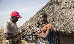 Rebecca Morris anajisikia salama baada ya uteguaji wa mabomu uliofanywa na UNMAS