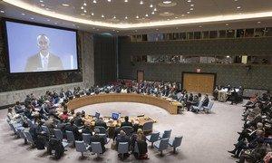 Заседание Совета Безопасности по проблеме ближневосточного урегулирования