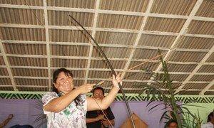 Indígena brasileira ganha Prêmio de Direitos Humanos da ONU de 2018