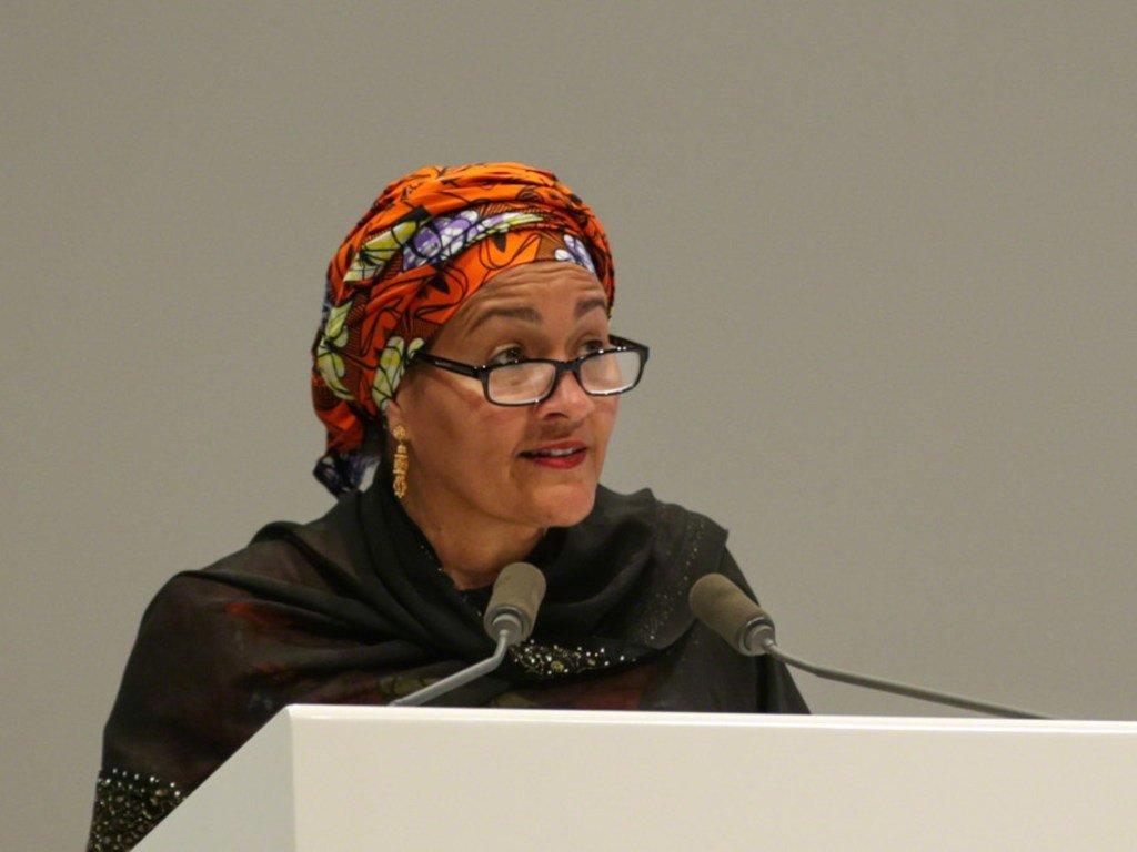 Naibu Katibu Mkuu wa UN Amina J. Mohammed