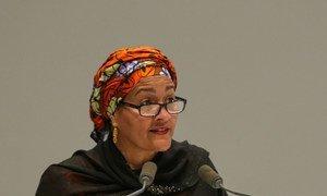 Первый заместитель Генерального секретаря ООН Амина Мохаммед. Фото из архива