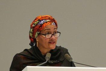 Первый заместитель Генерального секретаря ООН Амина Мухаммед обратилась к участникам форума