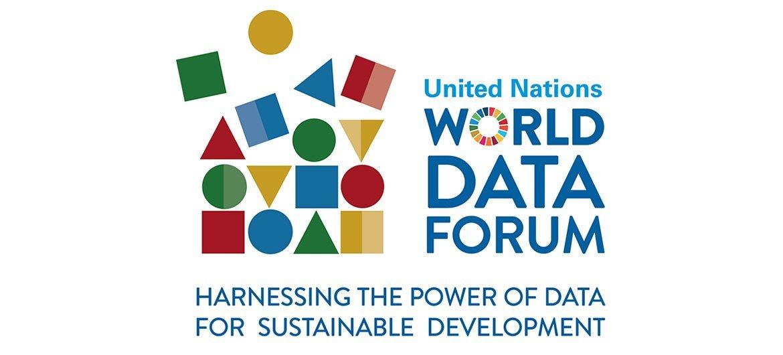2018联合国全球数据论坛会标。
