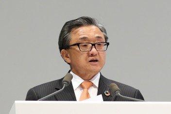 联合国负责经济和社会事务的副秘书长刘振民。