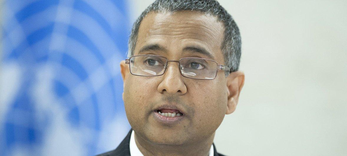 Ахмед Шахид, Спецдокладчик ООН по вопросам свободы религии