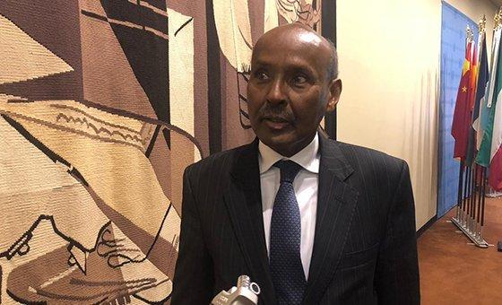 Председатель Международного Cуда ООН Абдулгави Ахмед Юсуф