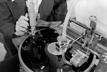 Over 37,000 discs with audio recordings of meetings at the United Nations are part of the organization's rich audio heritage.