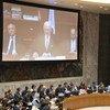 Спецпосланник ООН по Сирии Стаффан де Мистура проинформировал членов Совета Безопасности о своей недавней встрече с представителями сирийского правительства в Дамаске.