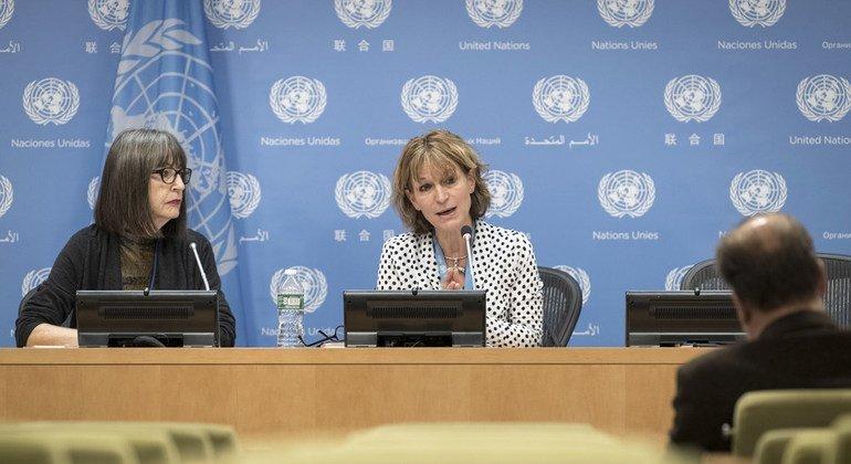 Rueda de prensa de Agnes Callamard, la relatora especial sobre ejecuciones extrajudiciales.