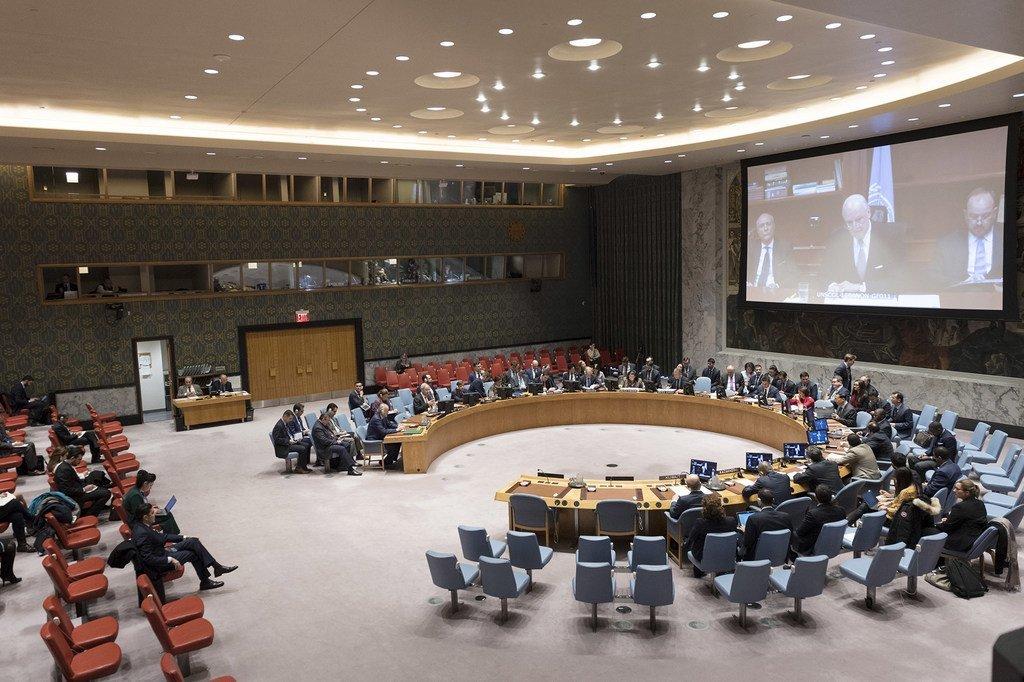 联合国叙利亚问题特使德米斯图拉今天与安理会举行了视频通报会。