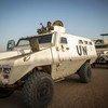 Миротворцы ООН из Буркина-Фасо служат в Бере, расположенном в центральной части Мали. Май 2018 года.