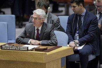Заместитель Генсека по гуманитарным вопросам и Координатор чрезвычайной помощи Марк Локок рассказал в Совбезе о гуманитарной ситуации в Сирии.