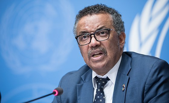 Глава Всемирной организации здравоохранения Тедрос Гебрейесус