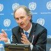 O diplomata norueguês Geir Pedersen é o novo enviado das Nações Unidas para a Síria.