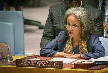 Primeira presidente mulher da Etiópia, Sahle-Work Zewde