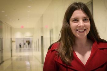 Coordenadora de Programas da Rede Global de Mulheres Construtoras da Paz, Agnieszka Fal-Dutra Santos.