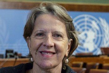 Dr Vera Luiza da Costa e Silva, Head of the World Health Organization's Framework Convention on Tobacco Control (WHO FCTC).