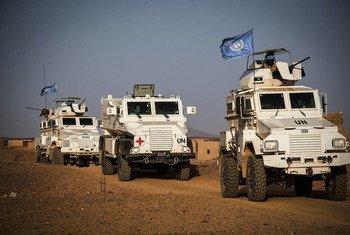 माली में संयुक्त राष्ट्र स्थिरता मिशन (MINUSMA).