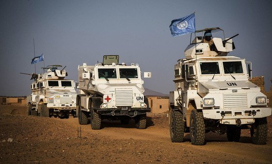 MINUSMA troops based in Kidal in the extreme north of Mali, ensure the security of the camp, and also the safety of the civilian population.