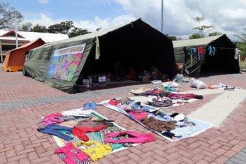 Благодаря средствам из Фонда реагирования на чрезвычайные ситуации удалось сразу же оказать помощь пострадашим от цунами в Индонезии в октябре этого года.