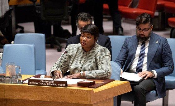Promotora-chefe do Tribunal Penal Internacional, Fatou Bensouda.
