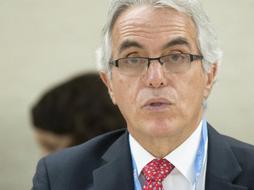 Diego García-Sayán, relator especial sobre la independencia de jueces y abogados.