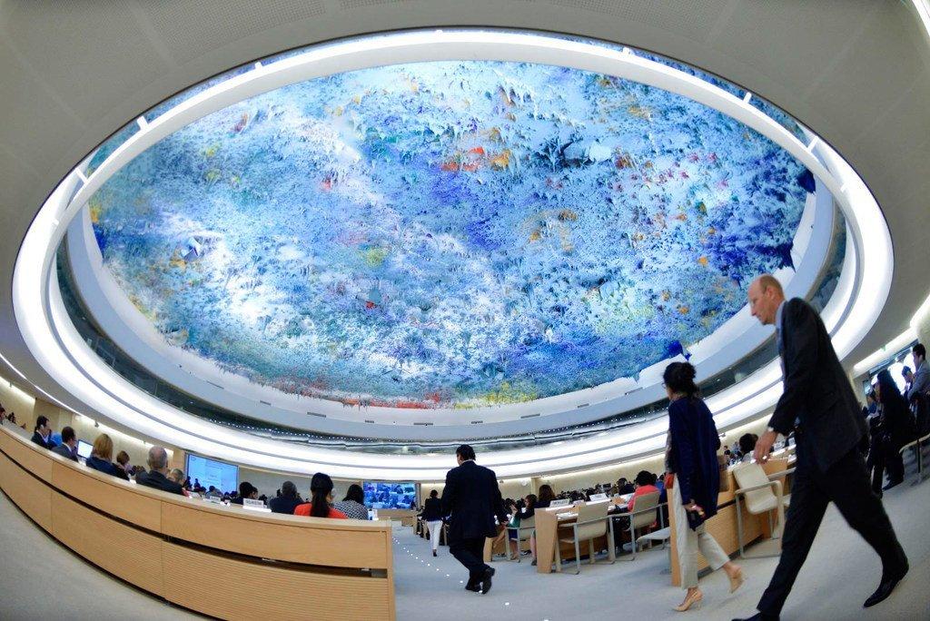 联合国人权理事会。