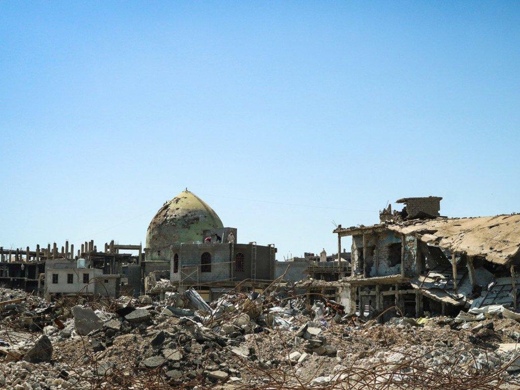 Uharibifu mkubwa nchini  Iraq uliotekelezwa na ISIL.