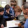 Pnud ajuda a desenhar uma rota de bicicleta para melhorar o turismo local na Ucrânia