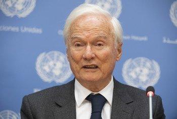 Специдокладчик ООН по вопросам негативного воздействия односторонних принудительных мер на права и свободы Идрис Джазаири.