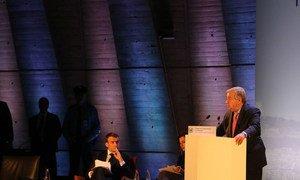António Guterres participou na abertura do Fórum de Governança da Internet.