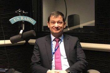 Первый заместитель Постпреда России при ООН Дмитрий Полянский