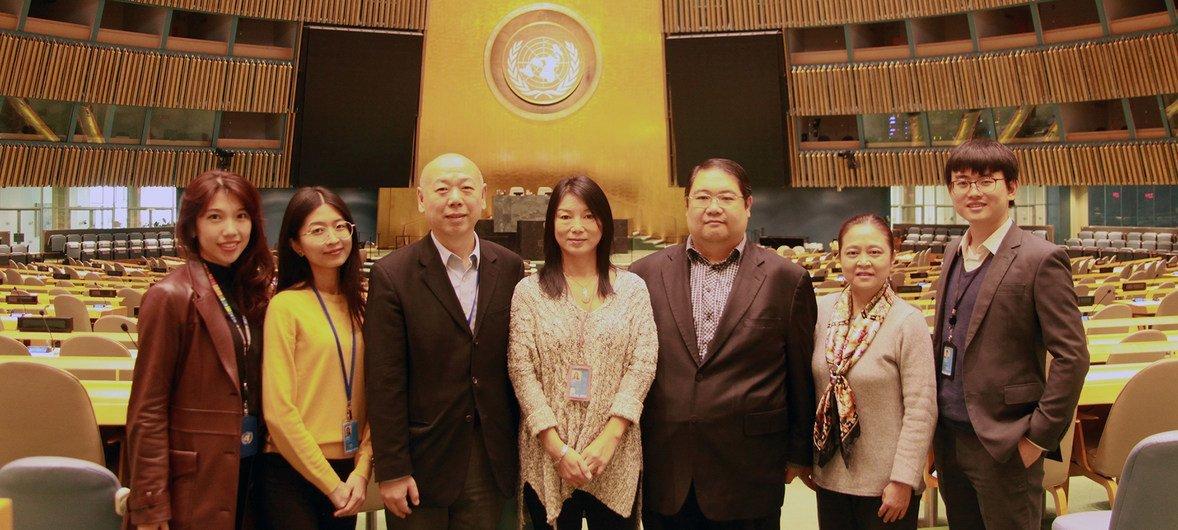 联合国中文网站工作人员。