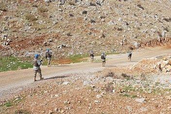 Миротворцы из Казахстана патрулируют территорию в Ливане