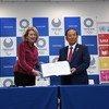 Carta de intenção foi assinada pela subsecretária-geral da ONU para Comunicações Globais e o chefe executivo dos Jogos Olímpicos Tóquio 2020.