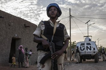 Миротворцы ООН  в Мали.