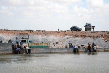 Represas de arena en Somalia.