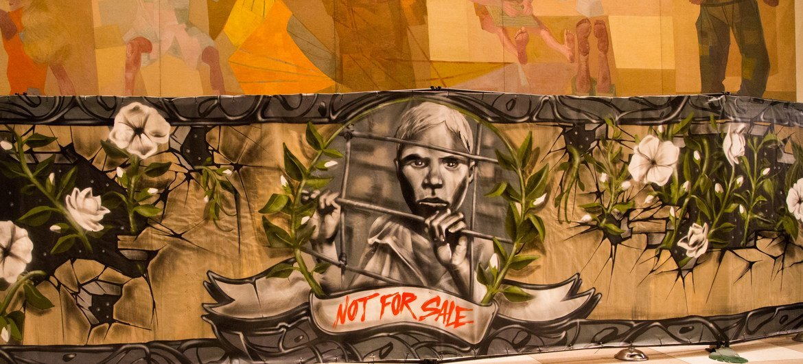 Street art exhibition to end child slavery