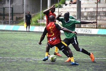 Em 2018, Angola disputou a semifinal com Níger na Copa do Brasil de Refugiados