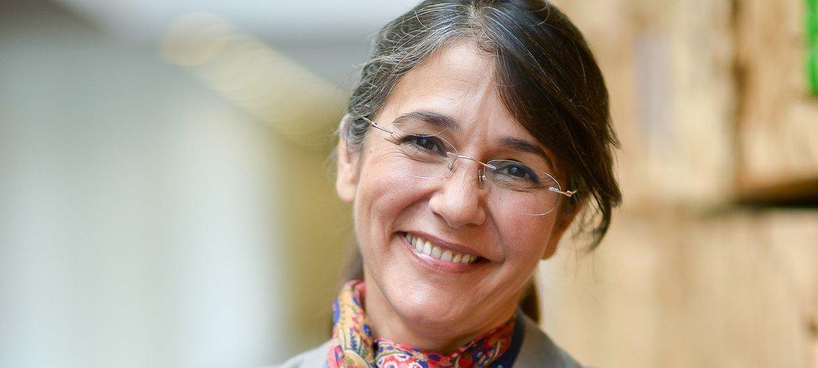 Isabel Aldir - Diretora para a área das Hepatites Virais e para a área da Infeção VIH/SIDA e Tuberculose
