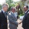 Subsecretário-geral para as Operações de Manutenção de Paz e diretor-geral da Organização Mundial da Saúde em Kinshasa, na RD Congo.