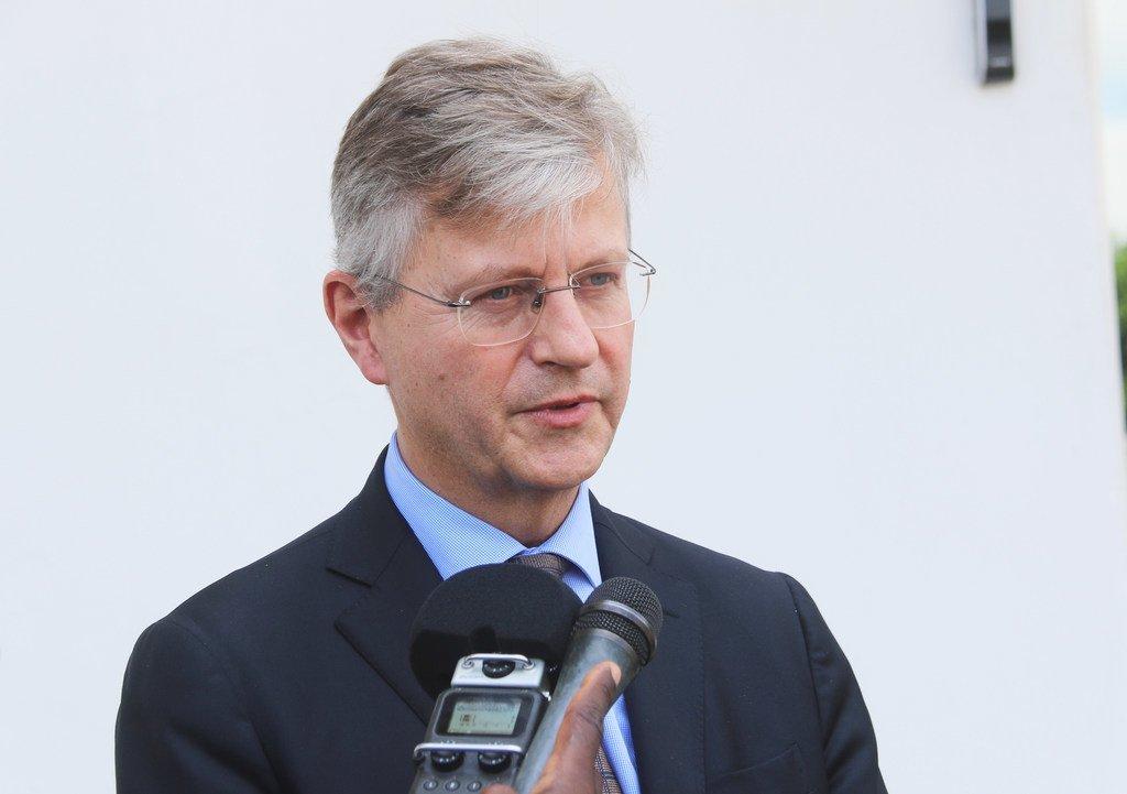 El jefe de Operaciones de Mantenimiento de la Paz de la ONU, Jean-Pierre Lacroix.